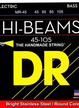 DR DR MR-45 Hi-Beam 4-String Bass Set, 45-105