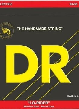 DR DR Lo-Rider 5 String Bass, Medium, 45-125