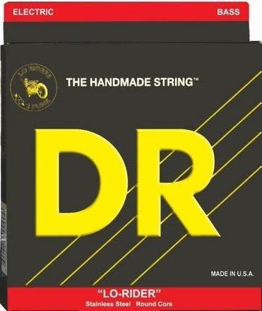 DR DR Lo-Rider 5 String Bass, Medium, 45-125