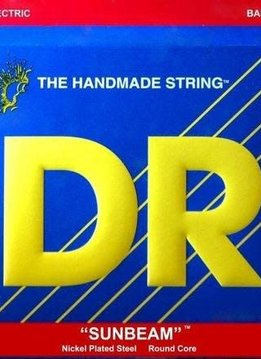 DR DR NMR5-45 Sunbeam 5-String Bass String Set, 45-125