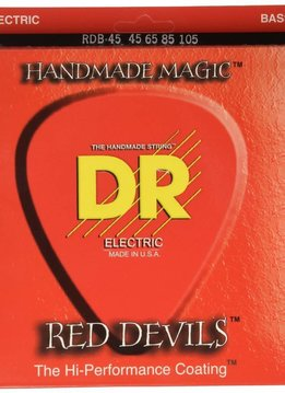 DR DR RDB-45 Red Devil 4-String Bass Set, 45-105