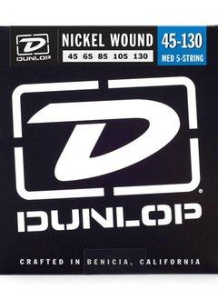 Dunlop Dunlop 5-String, Nickel, Long Scale, 45-130