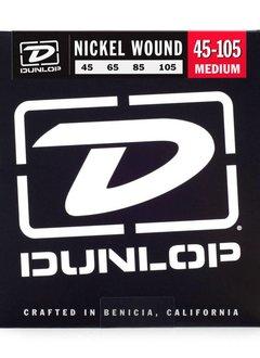 Dunlop Dunlop Nickel Bass Strings, Medium, Long Scale, 45-105