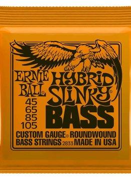 Ernie Ball Ernie Ball 4 String, Hybrid Slinky, Nickel, 45-105