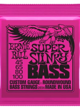 Ernie Ball Ernie Ball 4-String Bass Super Slinky Nickel