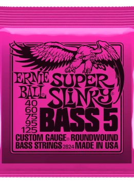 Ernie Ball Ernie Ball Nickel 5-String Bass Super Slinky