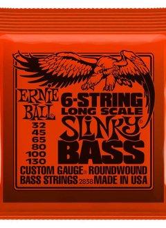 Ernie Ball Ernie Ball Slinky, Nickel, 6 String Bass, Long Scale