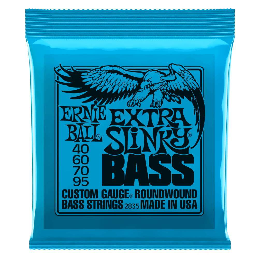 Ernie Ball Ernie Ball Extra Slinky 4 String Bass, Nickel, 40-95