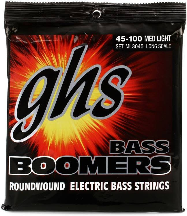 GHS GHS Bass Boom Long Scale, Medium/Light
