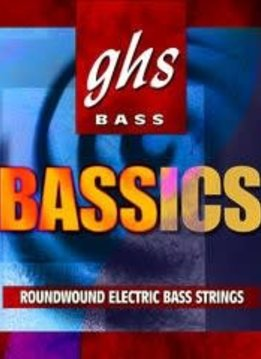 GHS GHS Bassics, Med/Light, Long Scale Bass Strings