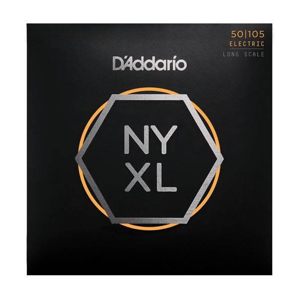 D'Addario D'Addario NYXL50105, Set Long Scale, Medium, 50-105