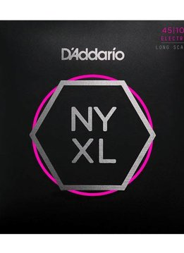 D'Addario D'Addario NYXL45100, Set Long Scale, Regular Light, 45-100