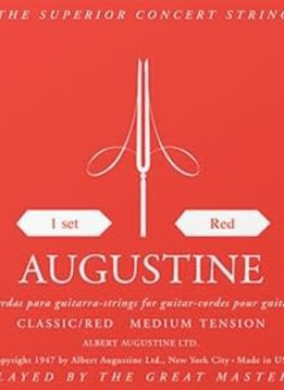Augustine Classical Red Set, Medium Tension