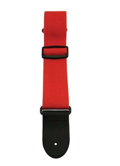 """Sims Logo 2"""" Strap, Red"""