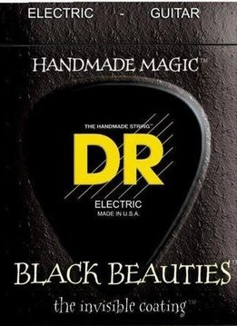 DR DR BKE-9 Black Beauties Electric String Set, 9-42