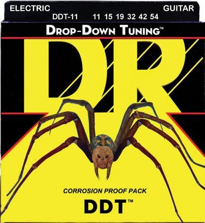 DR DR DDT Guitar Set, 11-54