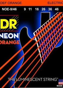 DR DR Neon Orange Strings Light