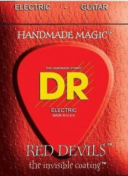DR DR Red Devils Elec. Guitar Strings, 10-46