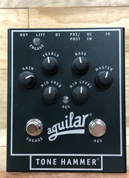 Aguilar Aguilar Tone Hammer Bass Preamp Pedal