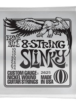 Ernie Ball Ernie Ball Slinkies 8-String, Nickel