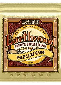 Ernie Ball Ernie Ball Earthwood Medium 80/20 Bronze Acoustic