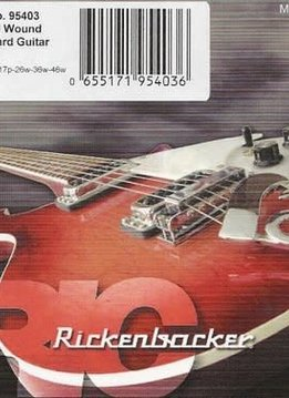 Rickenbacker Rickenbacker Standard Guitar Nickel Round Wound, 10-46
