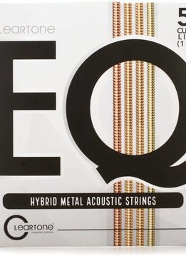 Cleartone Cleartone EQ Hybrid Metal Acoustic Strings Custom Light 11-52