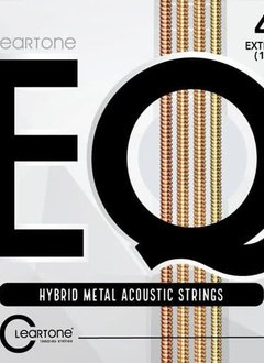 Cleartone Cleartone EQ Hybrid Metal Acoustic Strings Ex-Light 10-47