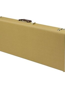 Fender® Pro Series Stratocaster®/Telecaster® Case - Tweed with Orange Plush Interior