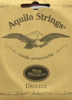 Aquila Baritone Nyglut Wound D and G Uke Set