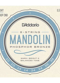 D'Addario D'Addario Set Mandolin Phosphor Bronze Light 10-38