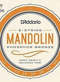 D'Addario D'Addario EJ74 Phosphor Bronze Loop End Mandolin Strings, 11-40