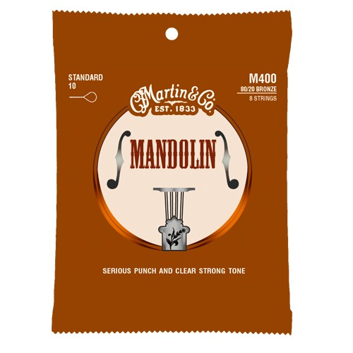 Martin Martin M465 Monel Wound Medium Mandolin Strings,
