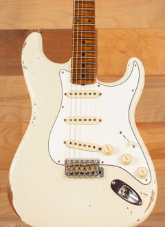 Fender Fender 2018 Custom Shop Roasted Tomatillo Maple Neck Stratocaster Relic, Aged '55 Desert Tan