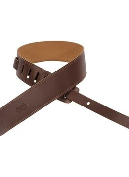 "Levy's Sims Music 2"" Leather Strap, Brown"