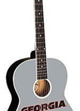 College Guitars University of Georgia Bulldogs Acoustic Guitar GA#1