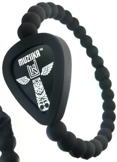 Pickbandz Pickbandz Muziika Skull Wristband, Medium