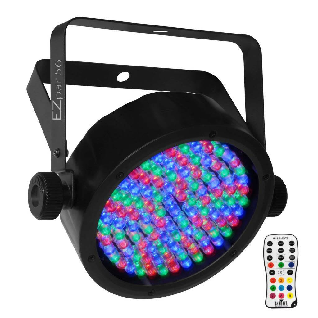 Chauvet EZPar 56 with IRC-6 Remote