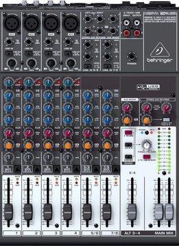 Behringer 1204USB 12 Input Mixer w/ USB