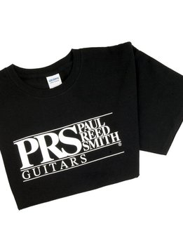 PRS PRS Short Sleeve Tee, Block Logo, Medium, Black