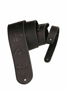 PRS PRS Leather Birds Strap, Black