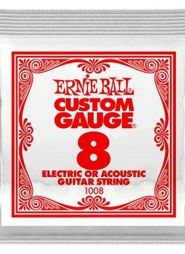 Ernie Ball Ernie Ball Plain Steel Single .008