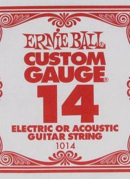 Ernie Ball Ernie Ball Plain Steel .014 Single String