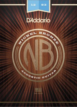 D'Addario D'Addario Nickel Bronze Acoustic - Light (12-53)