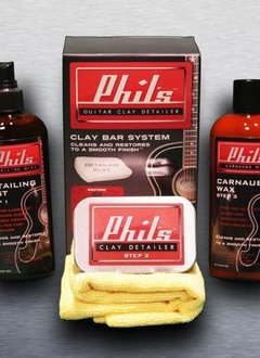 Cleartone Phil's Guitar Clay Detailer System