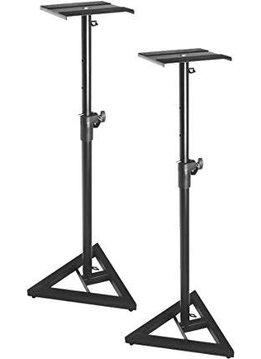 On-Stage On-Stage SMS6000-P Studio Monitor Stand Set