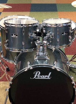 Pearl Pearl Roadshow Complete Set with Cymbals, Charcoal Metallic