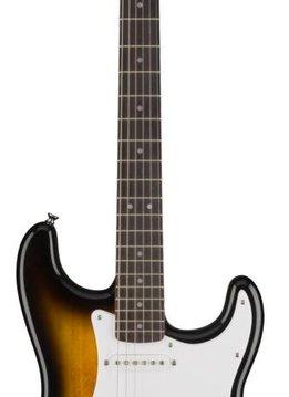 Squier Squier Bullet Stratocaster® HSS Hard Tail, Laurel Fingerboard, Brown Sunburst
