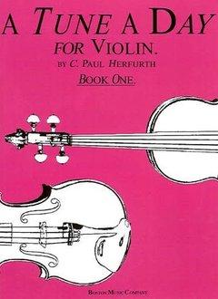 Hal Leonard A Tune A Day for Violin Book One