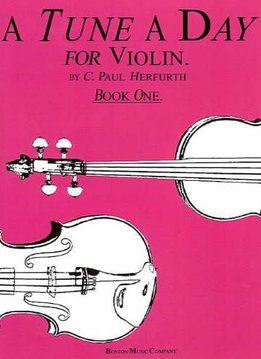 Hal Leonard A Tune A Day for Violin Book One